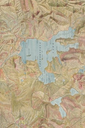 1898 Map Of Yellowstone National Park