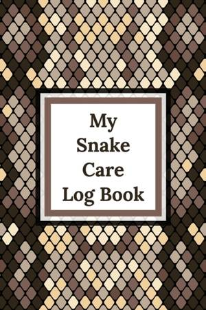 My Snake Care Log Book