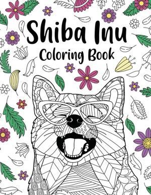 Shiba Inu Coloring Book