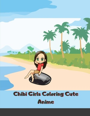 Chibi Girls Coloring Cute Anime