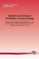 Spatial And Temporal Variability Of Solar Energy