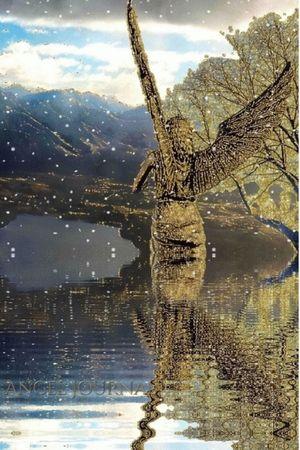New Zealand Angelic Angel Pound Reflection Creative Blank Journal
