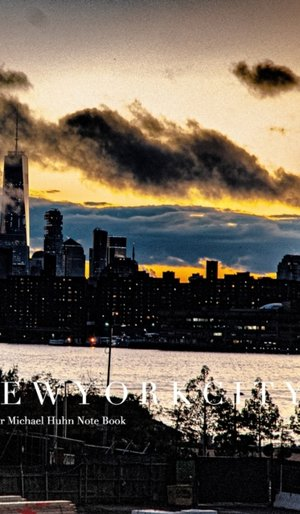 New York City Freedom Tower Manhattan Skyline Blank Page Notebook