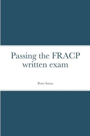 Passing the FRACP written exam