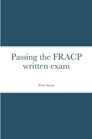 Passing The Fracp Written Exam