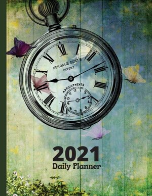 Daily Planner 2021 - 365 Days One Page Per Day