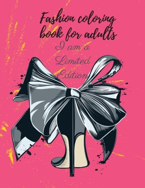 Fashion Coloring Book For Adults