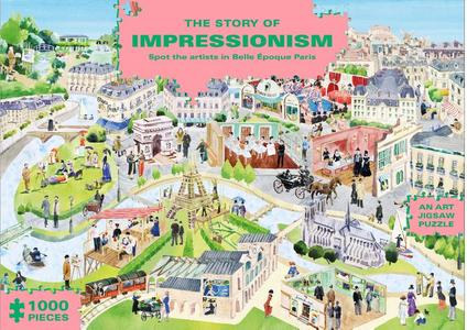 Puzzel Story Of Impressionism 1000 stukjes
