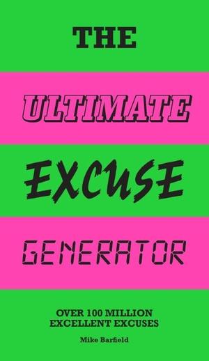 Ultimate Excuse Generator