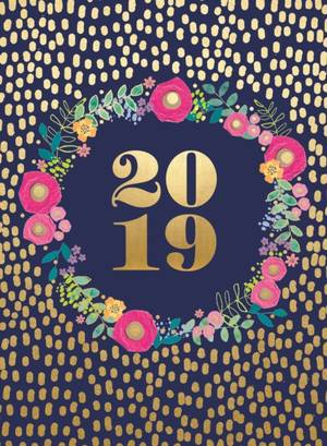 Fashion Diary Foil & Flowers Md D 2019