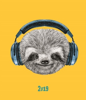 Fashion Diary Sloth Sq Pkt D 2019