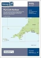 Imray Chart Y45 Plymouth Harbour Laminated