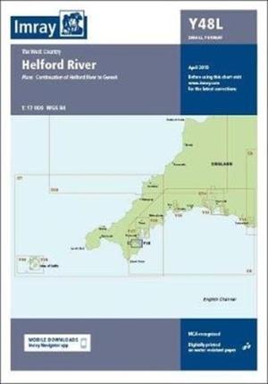 Imray Chart Y48 Helford River Laminated
