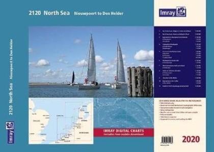 Imray 2120 North Sea - Nieuwpoort To Den Helder Chart Atlas 2020