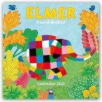 Elmer Wall Calendar 2021 (art Calendar)
