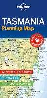 Lonely Planet Tasmania Planning Map