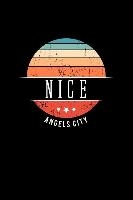 Nice Angels City: Vintage City Trip Souvenir Blank Journal Notebook