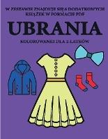 Kolorowanki Dla 2-latkow (ubrania)