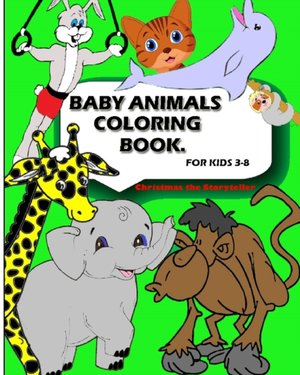 Baby Animal Coloring Book