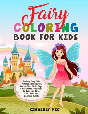 Fairy Coloring Book For Kids