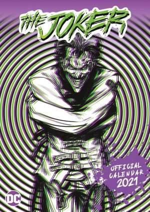 Joker 2021 Calendar - Official Square Wall Format Calendar