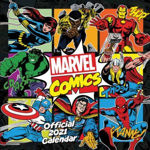 Marvel Comics Kalendar 2021