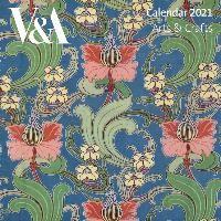 V&A Arts & Crafts Design Mini Wall calendar 2021 (Art Calend