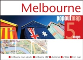 Melbourne Popout Map
