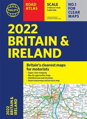 2022 Philip's Road Atlas Britain And Ireland