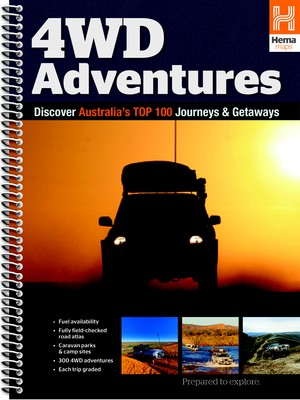 Australië 4WD Adventures atlas A4