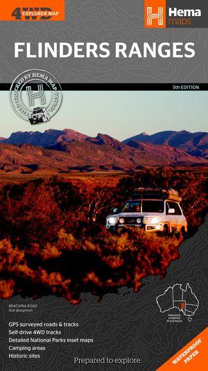 Flinders Ranges (South Australia) 1 : 400 000
