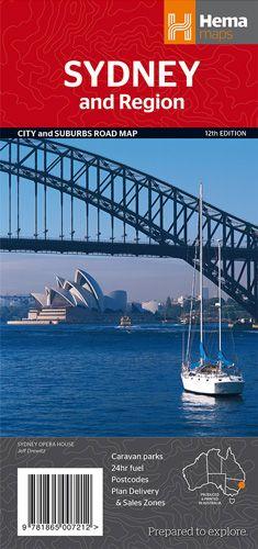 Sydney + Region City and Suburbs Road Map 1 : 1000 000 / 1 : 241 000