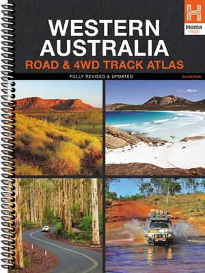 West-Australië 4WD Track atlas A4