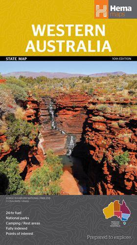 Western Australia State National Park 1 : 250 000