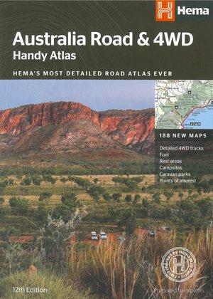 Australië Road & 4WD handy atlas B5 spir.