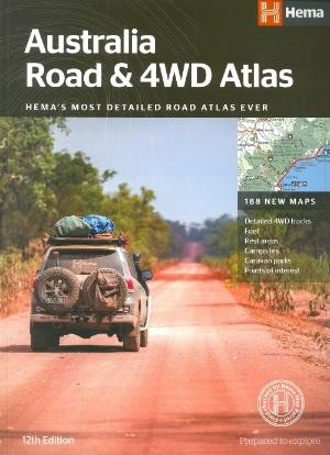 Australia Road And 4wd Atlas B4
