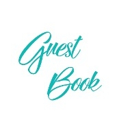 Tiffany Blue Guest Book, Weddings, Anniversary, Party's, Special Occasions, Memories, Christening, Baptism, Visitors Book, Guests Comments, Vacation Home Guest Book, Beach House Guest Book, Comments Book, Funeral, Wake And Visitor Book (hardback)