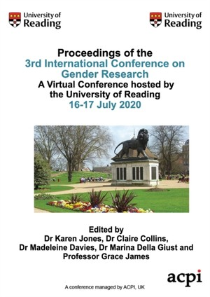 Icgr20-proceedings Of The 3rd International Conference On Gender Research