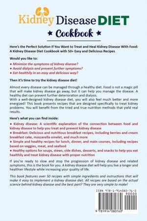 Kidney Disease Diet Cookbook