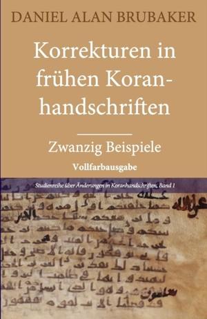 Korrekturen In Fruhen Koranhandschriften
