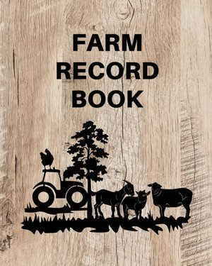 Farm Record Keeping Log Book