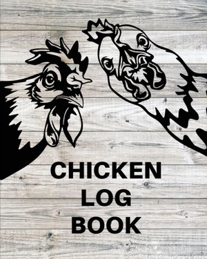 Chicken Record Keeping Log Book