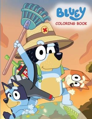 Publications, D: Bluey Coloring Book