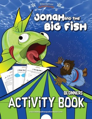 Jonah And The Big Fish Activity Book
