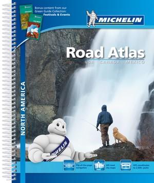North America Noord-Amerika Michelin Wegenatlas