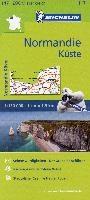 Michelin Zoomkarte Normandie Küste 1 : 200 000