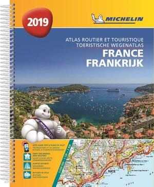 Frankrijk atlas sp. A4 2019