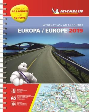 Europa atlas spir. A4 2019