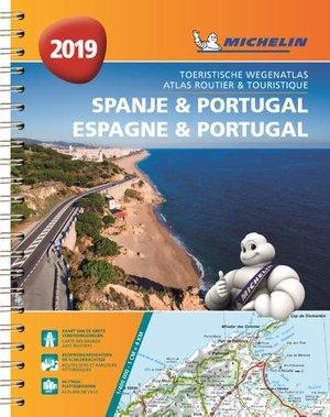 Spanje & Portugal atlas sp. a4 2019