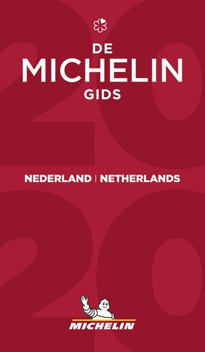 Nederland - Netherlands Michelin Rode Gids Guide Rouge 2020